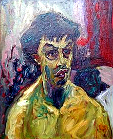 Ray Roadnight: 'Jonathan' (oil)